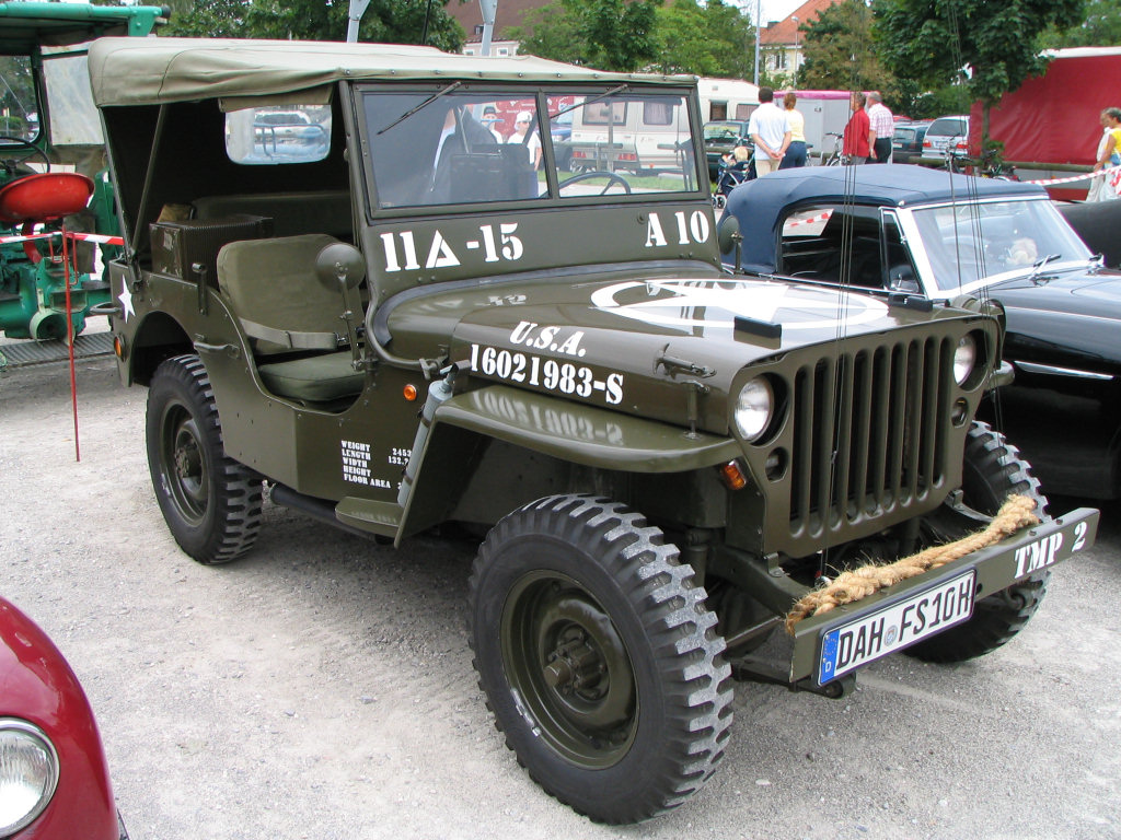 Willys Jeep Us Historians