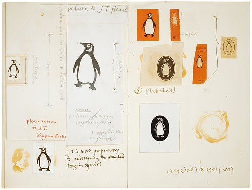 Evolution of Penguin logo