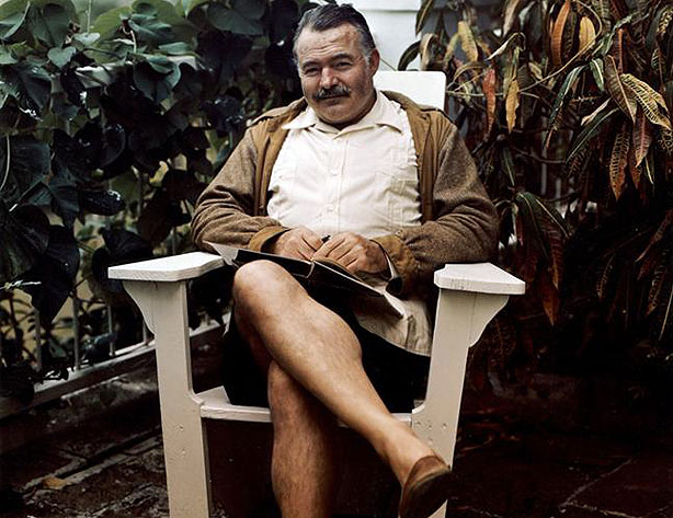 ernest hemingway style A detailed discussion of the writing styles running throughout the killers the killers including including point of view, structure, setting, language, and.