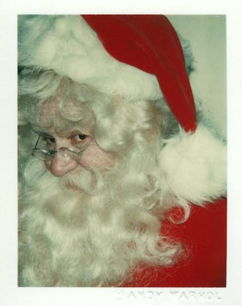 Andy Warhol ~ Santa Claus, 1981