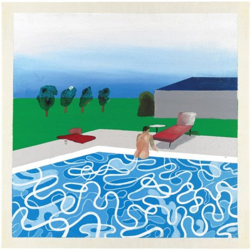 David Hockney Swimming Pool (1965)