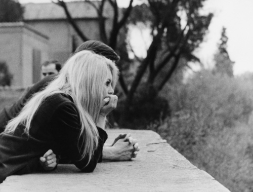 BRIGITTE BARDOT AND GUNTHER SACHS