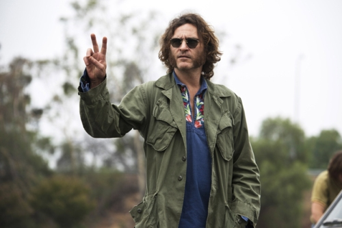 INHERENT VICE, Joaquin Phoenix, 2014. ph: Wilson Webb/©Warner Bros./courtesy Everett Collection