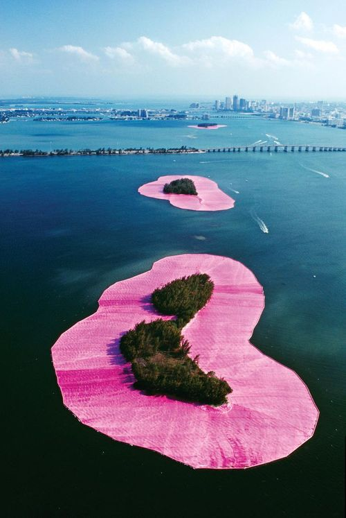 Christo and Jeanne-Claude: Surrounded Islands, Biscayne Bay, Greater Miami, Florida, 1980-83